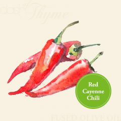 Organic Red Cayenne Chili Fused Olive Oil
