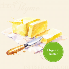 Organic Butter Infused Extra Virgin Olive Oil