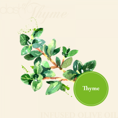 Thyme Infused Olive Oil