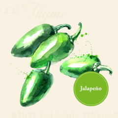 Jalapeño White Balsamic Vinegar Condimento
