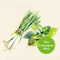 Thai Lemongrass Mint White Balsamic Vinegar Condimento