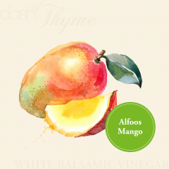 Alfoos Mango White Balsamic Vinegar Condimento