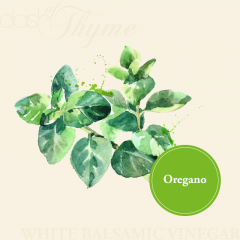 Oregano White Balsamic Vinegar