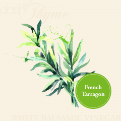 French Tarragon White Balsamic Vinegar