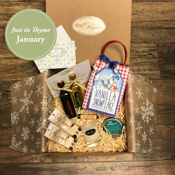 January Just in Thyme Box, Dash of Thyme Gourmet Food & Gifts in Denville, NJ