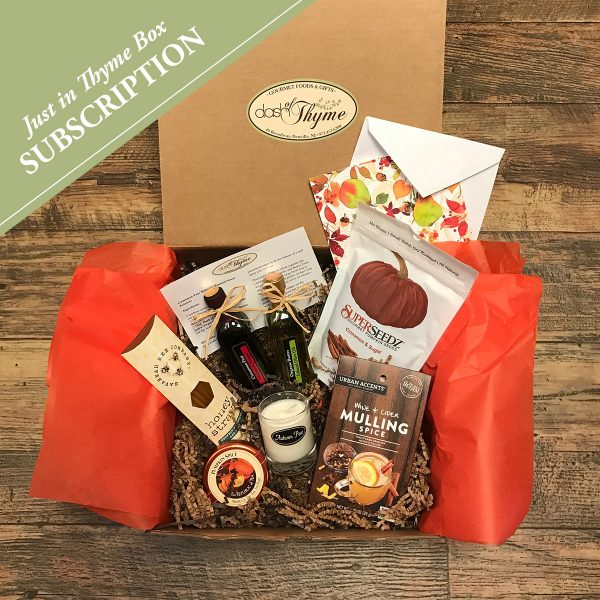 SUBSCRIPTION Just in Thyme Box, Dash of Thyme Gourmet Food & Gifts in Denville, NJstthyme-subscription