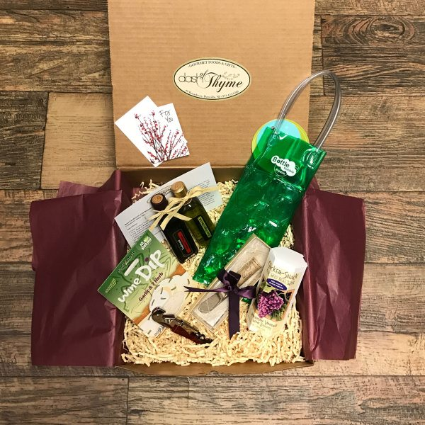 Wine Just in Thyme Box, Dash of Thyme Gourmet Food & Gifts in Denville, NJ