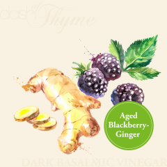 Aged Blackberry-Ginger Dark Balsamic Vinegar