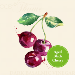 Aged Black Cherry Dark Balsamic Vinegar