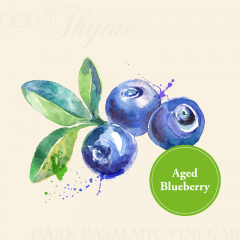 Aged Blueberry Dark Balsamic Vinegar