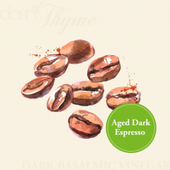 Aged Dark Espresso Dark Balsamic Vinegar