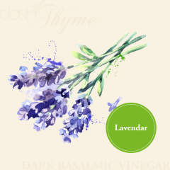 Lavendar Dark Balsamic Vinegar