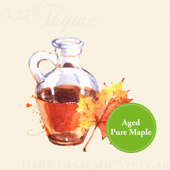 Aged Pure Maple Dark Balsamic Vinegar