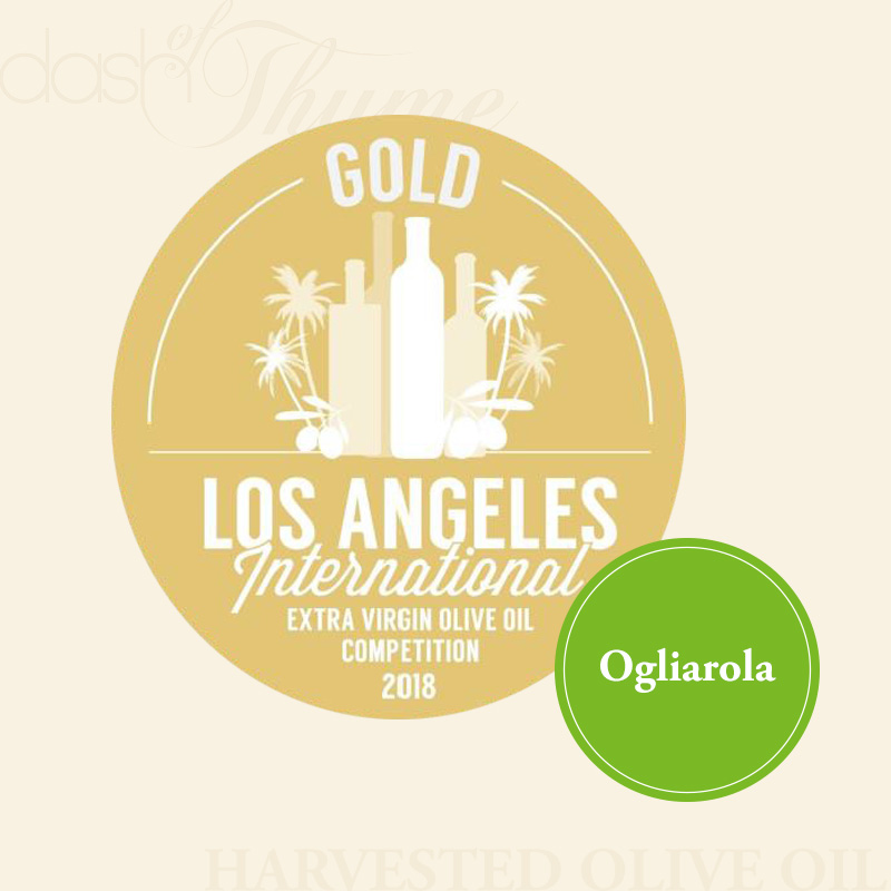 Dash of Thyme—Ogliarola Extra Virgin Olive Oil