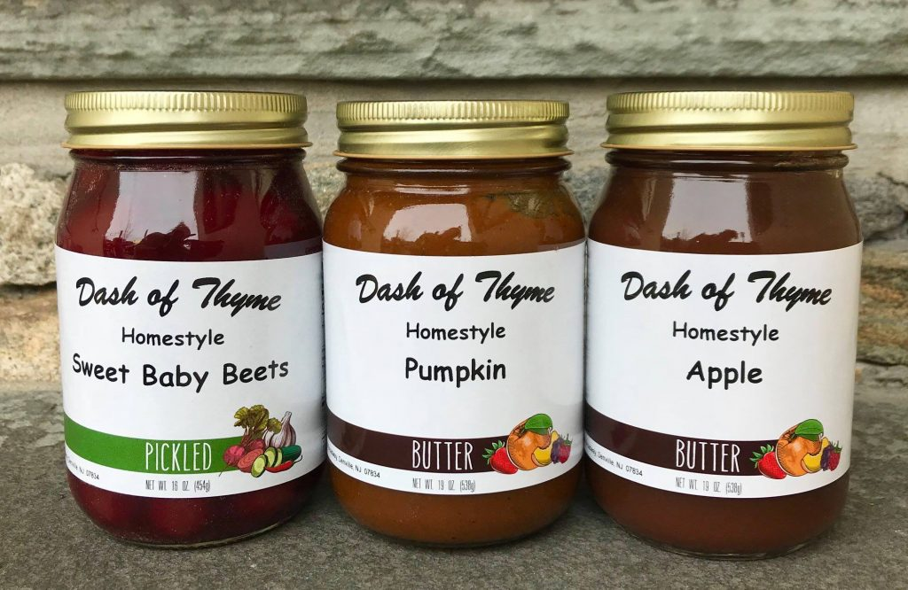 Pumpkin and Apple Butter - Dash of Thyme in Denville, NJ