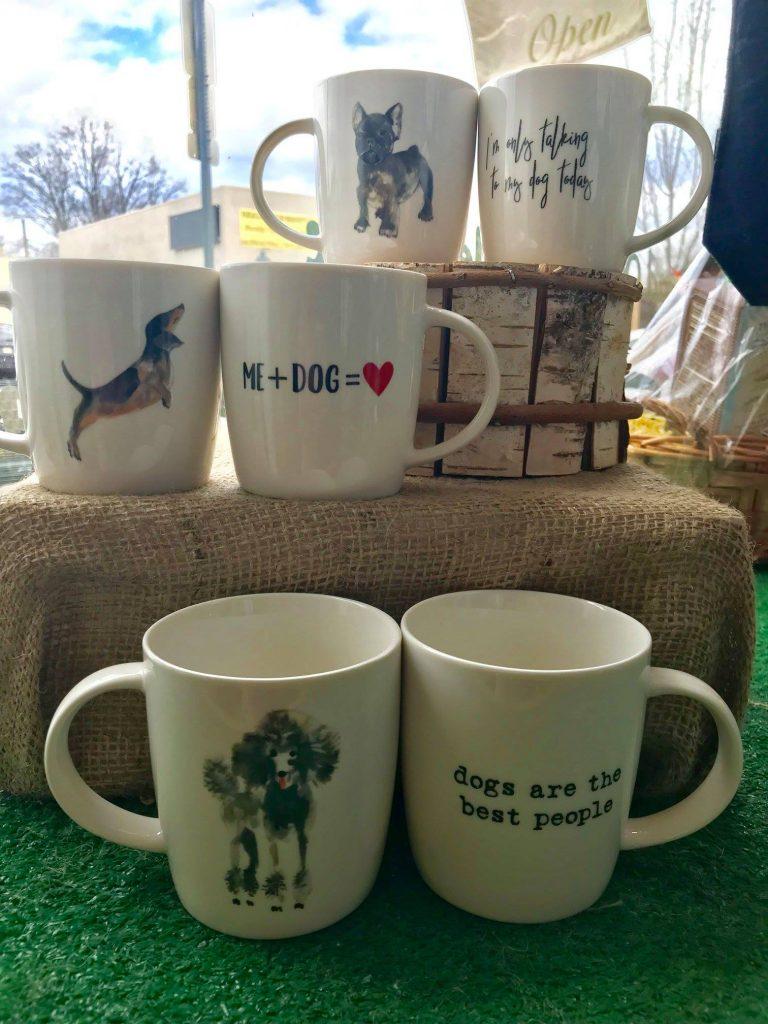 Dog mugs - Dash of Thyme in Denville, NJ