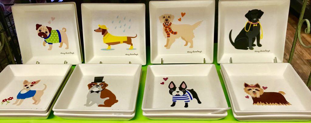 Dog plates - Dash of Thyme in Denville, NJ