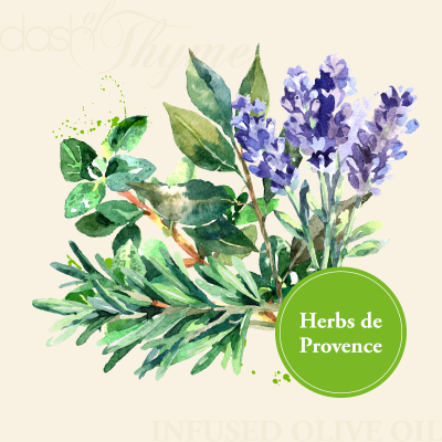 Dash of Thyme - Herbs de Provence Infused Extra Virgin Olive Oil