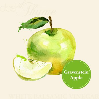 Dash of Thyme—Gravenstein Apple White Balsamic Vinegar