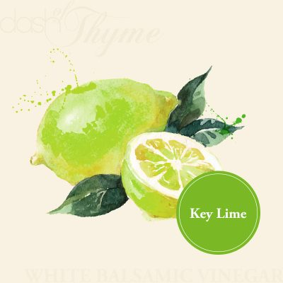 Dash of Thyme—Key Lime White Balsamic Vinegar