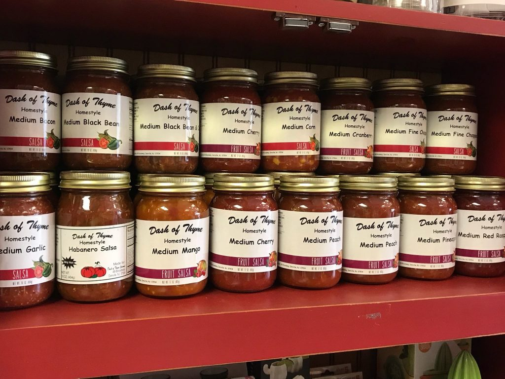 Salsas - Dash of Thyme in Denville, NJ