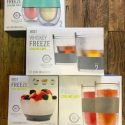 Freeze Cooling Cups & Bowl