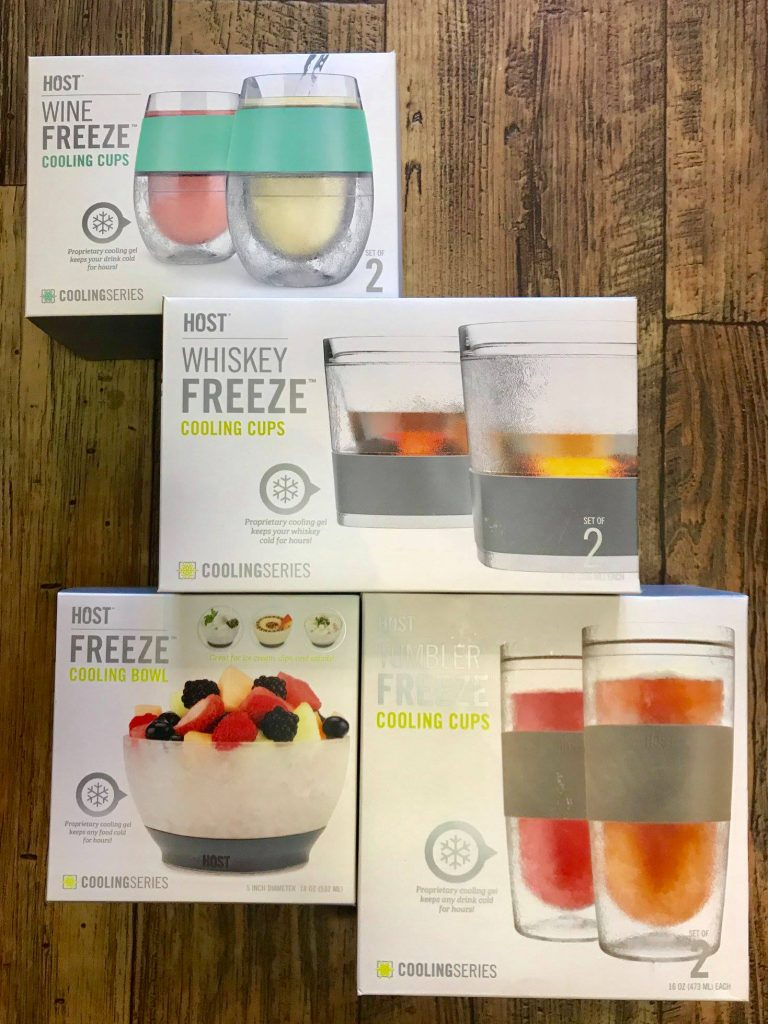 Freeze Cooling Cups - Dash of Thyme Denville, NJ