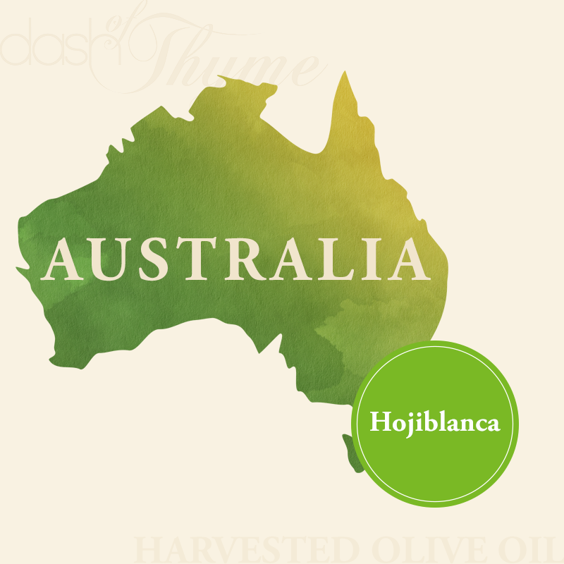 Dash of Thyme—Australia Hojiblanca Extra Virgin Olive Oil