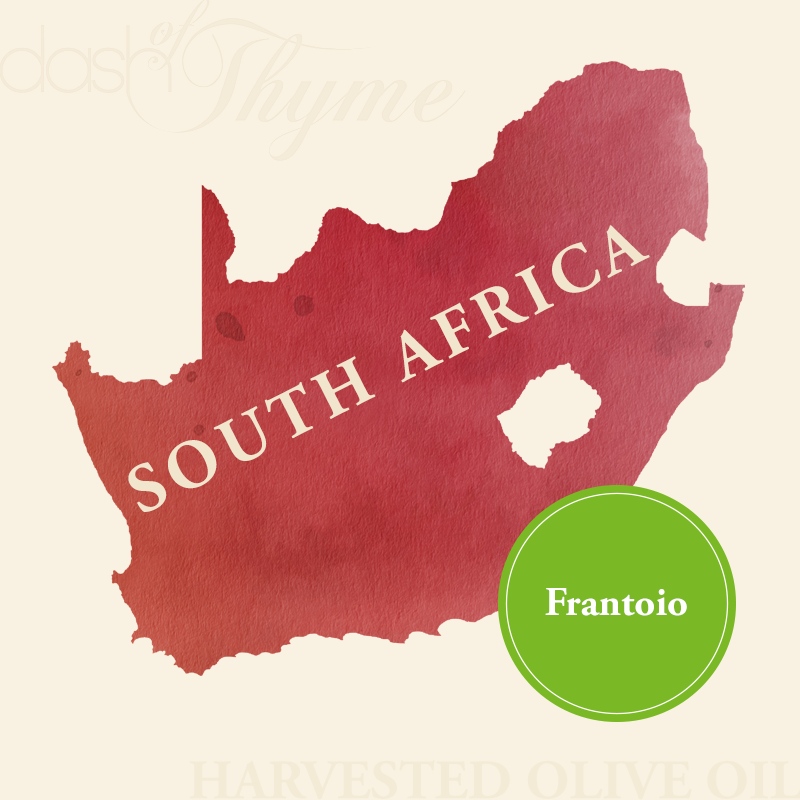 Dash of Thyme—South Africa Frantoio Extra Virgin Olive Oil