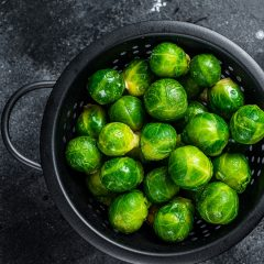 Crispy Jeweled Brussels Sprouts