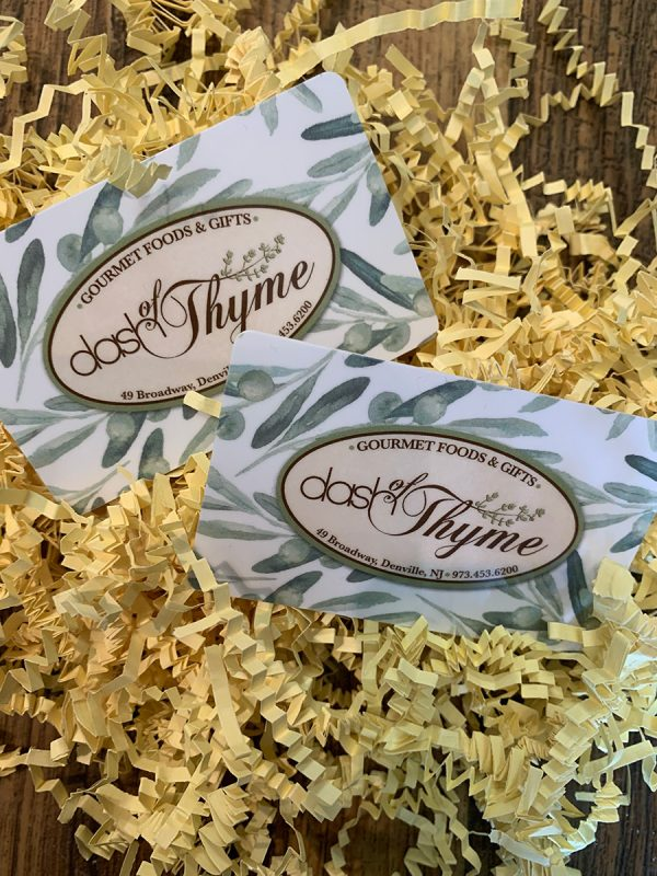 Dash of Thyme–Gift Card