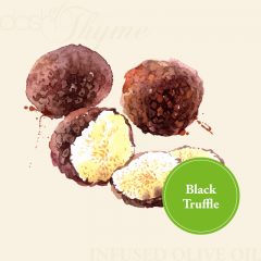 Black Truffle Infused Extra Virgin Olive Oil