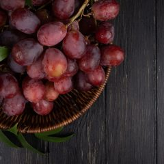 Roasted Grape and Goat Cheese Salad